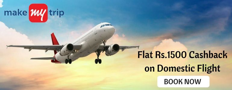 HDFC Offer: Flat Rs.1500 Cashback on Domestic Flight bookings
