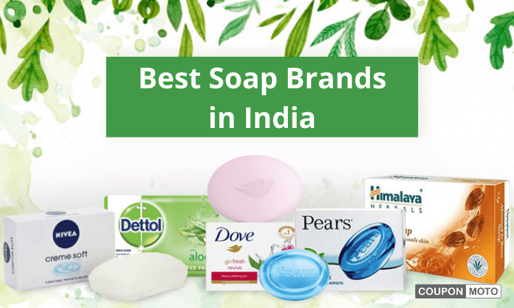 Top 10 Soap Brands in India – Best Selling Soap Brands