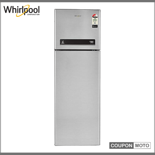 Whirlpool-265L-3-Star-Frost-Free-Double-Door-Refrigerator