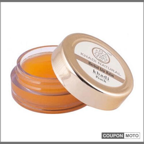 Khadi-Naturals-Peach-Lip-Balm