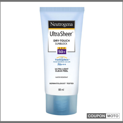 Neutrogena-Ultra-Sheer-Dry-Touch-SPF-50-Sunblock-sunscreen-for-oily-skin