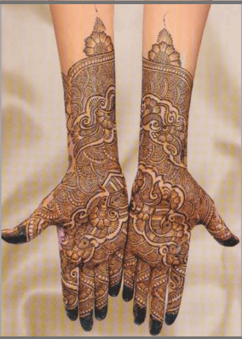 Indo-Arabic-Bridal-Mehendi-Design