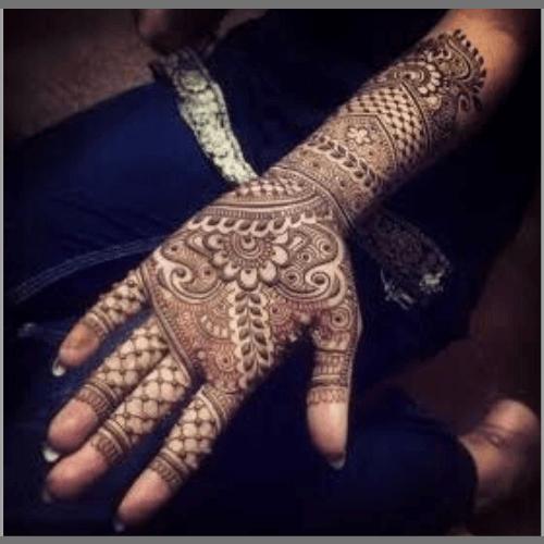 Leafy-Bridal-Mehandi-Design