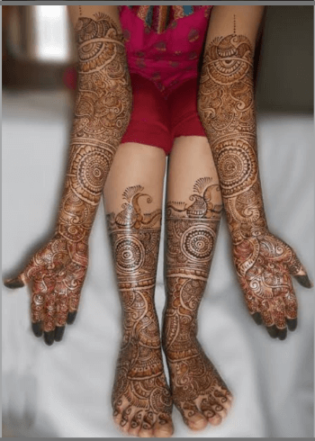 Mirror-Bridal-Mehndi-Designs-for-hands-and-feet