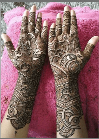 Peacock-Bridal-Mehendi-Design