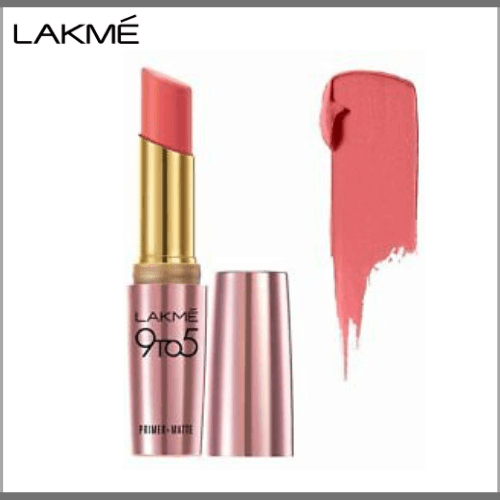 Lakme-9-to-5-Primer-Matte-Lip-Color–MP19-Blush-Book