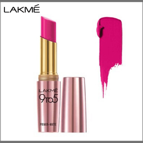 Lakme-9-to-5-Primer-Matte-Lip-Color-MP20-Pink-Post