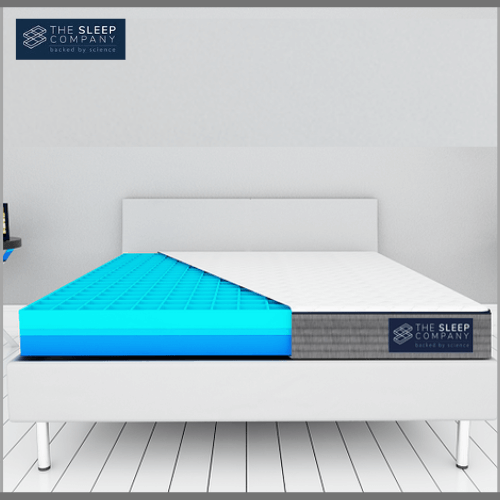 The-Sleep-Company-Smart-Grid-Mattress