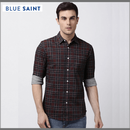 Blue-Saint-Casual-Shirt