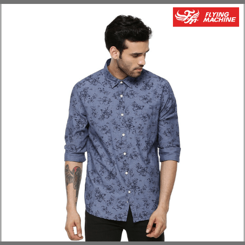 Flying-Machine-Casual-Shirts