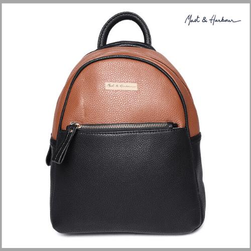 Mast-Harbour-Black-Brown-Women-Backpacks