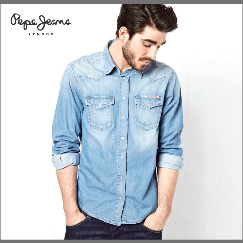 Pepe-Jeans-Casual-Shirts