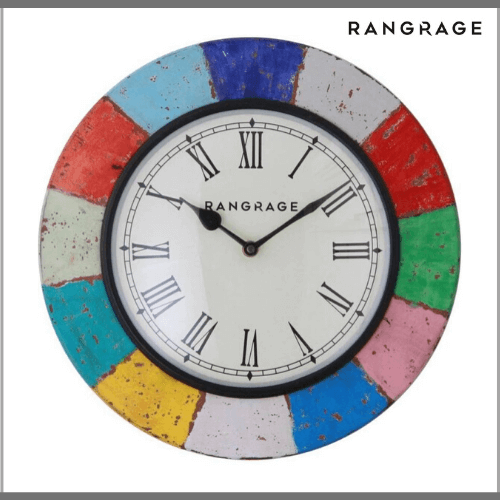 Rang-Rage-Wall-Clock