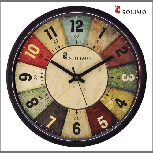 Solimo-Wall-Clock