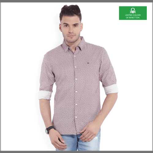 United-Colors-of-Benetton-Casual-Shirts