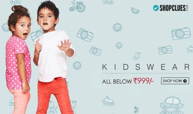 shopclues-kidswear