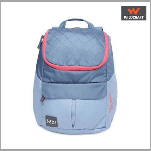 wildcraft-Women-Solid-Blue-Backpack
